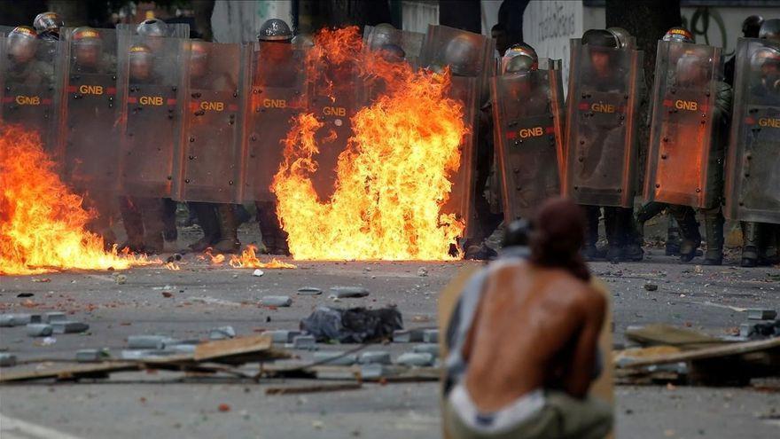El militar que mató a un manifestante en Venezuela, condenado a 23 años de prisión