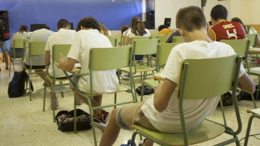 La mitad de los institutos tendrá refuerzo escolar en cuarto de la ESO