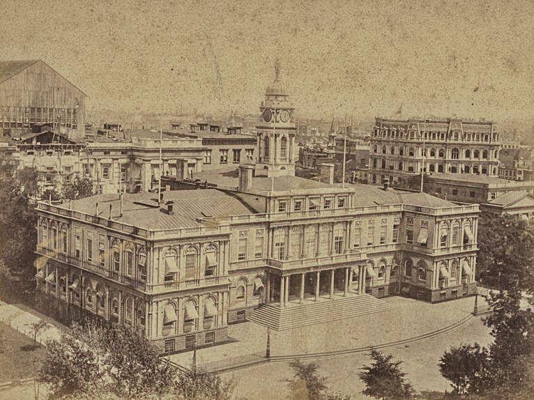 L'Ayuntamientu de Nueva York (1875-1876.