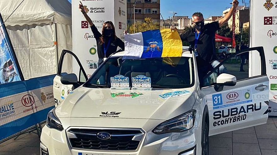Javier Robledano y Raquel Sánchez ganan el Nacional de energías alternativas