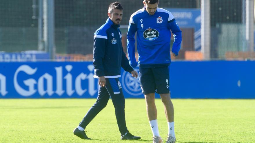 Primer día de Villares y Rayco con el primer equipo