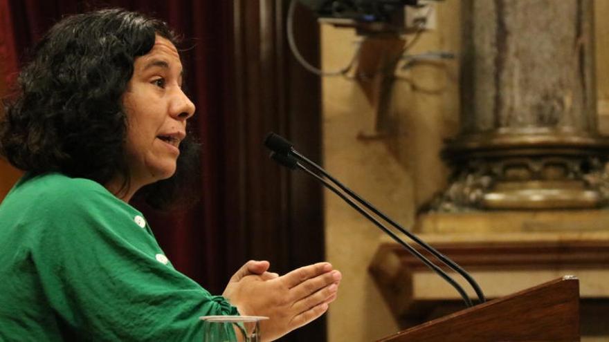 Susanna Segovia, nova portaveu parlamentària dels comuns al Parlament