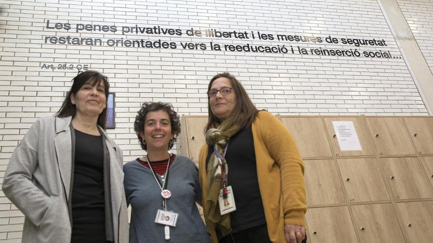 L'art empodera les dones des de la presó de Figueres