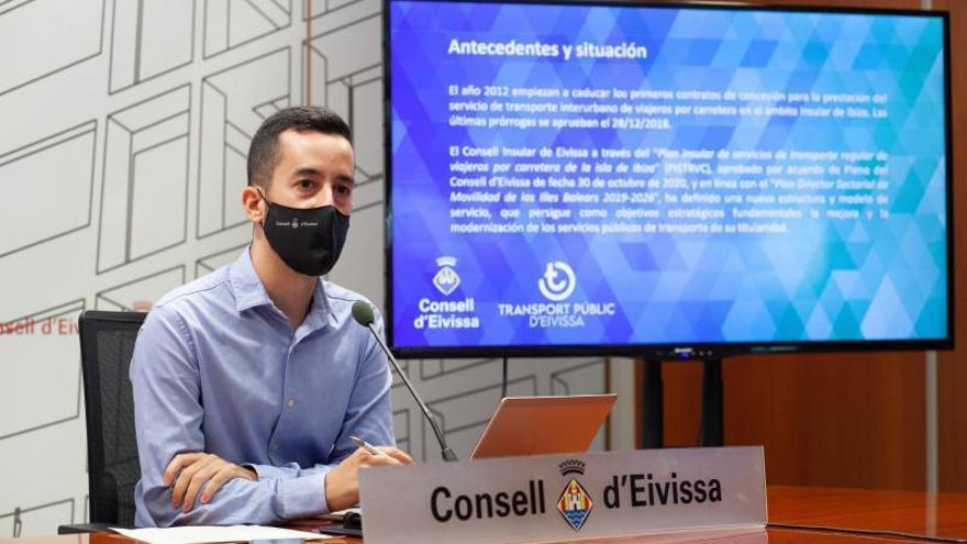 El Consell destinará 44,5 millones para mejorar el servicio de autobuses en Ibiza