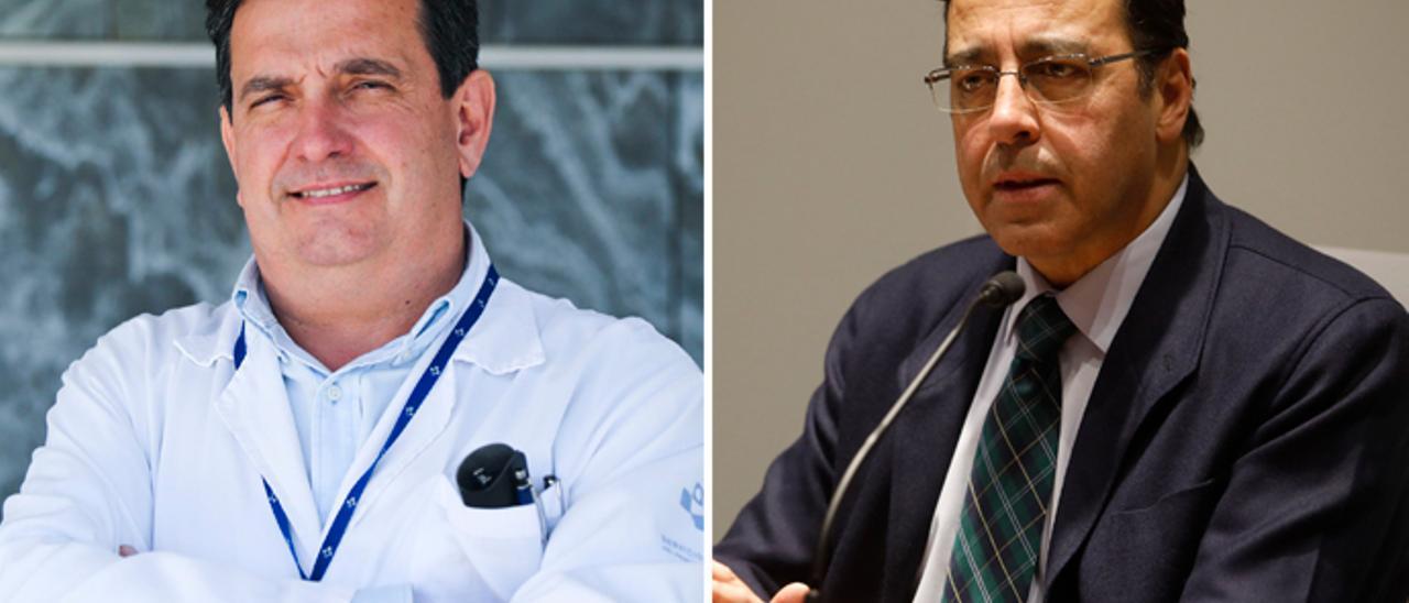Luis Antuña Montes y Venancio Martínez Suárez.