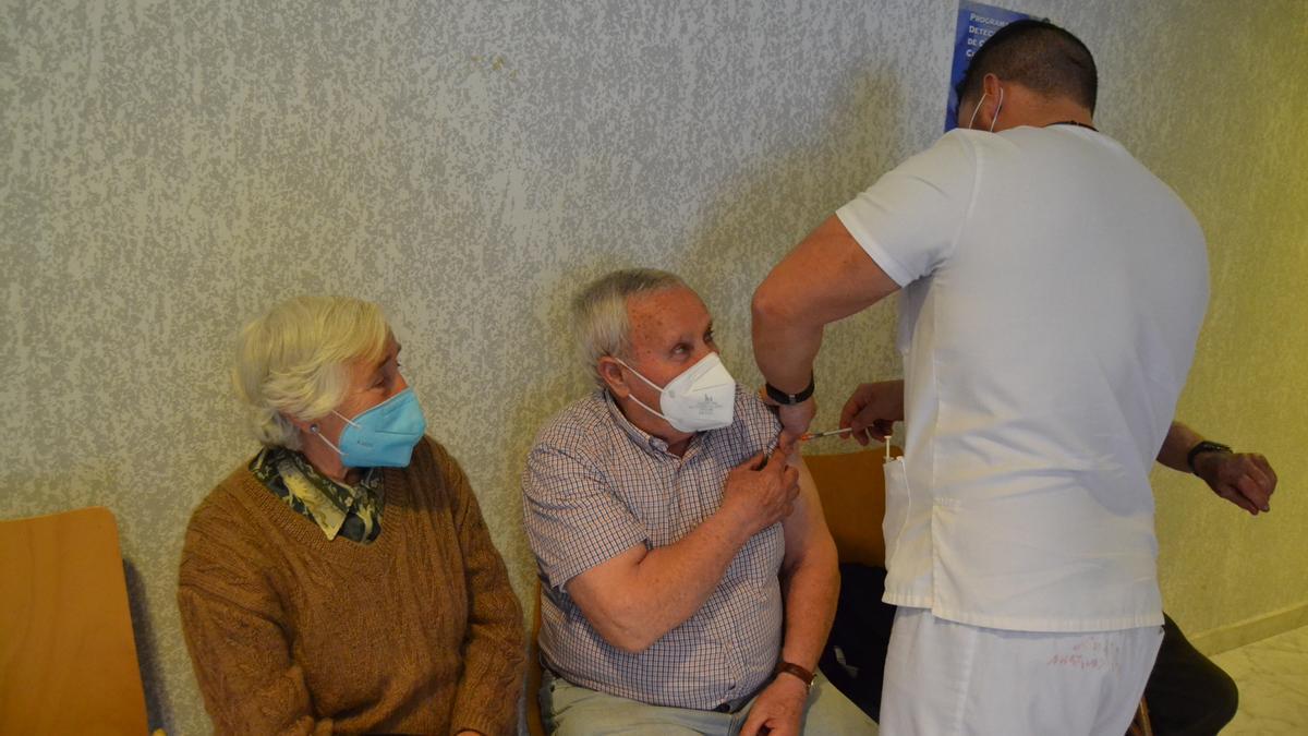 Vacunación contra el coronavirus en Sanabria