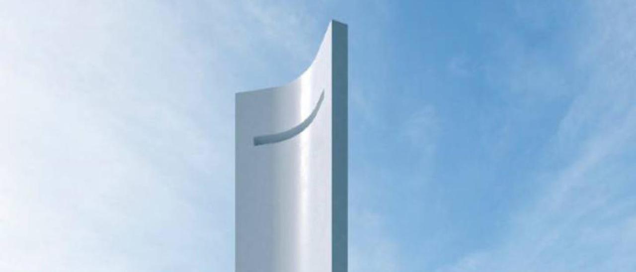 La torre eólica que dará luz a la Marina