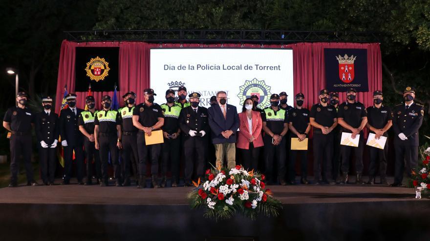 Torrent conmemora el Día de la Policía Local