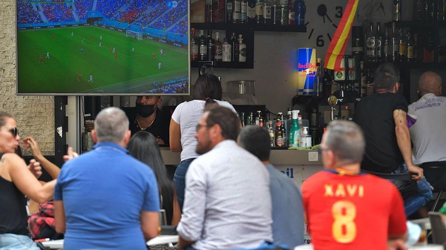 Desde Guanarteme con amor: La capital grancanaria, con la Selección Española en la Eurocopa