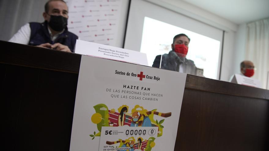 Cruz Roja Zamora presenta su campaña del Sorteo del Oro
