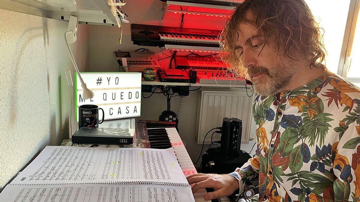 El compositor de Cangues d'Onís Ramón Prada.
