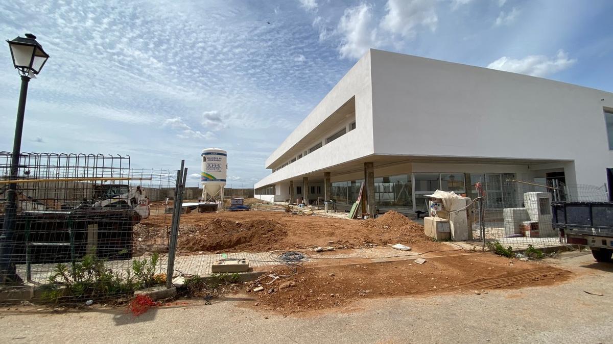 Nuevo colegio en construcción