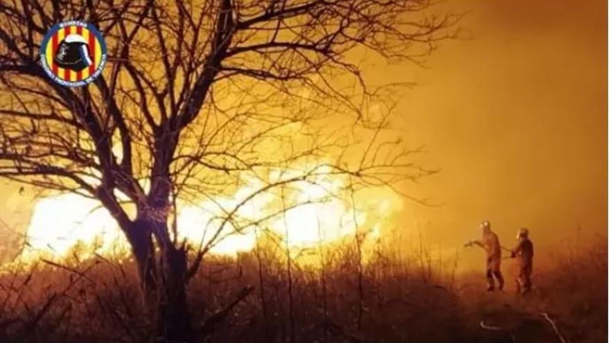 Extinguido el incendio de Massalfasssar