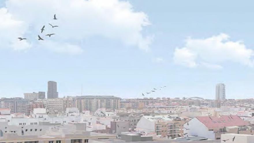 El nuevo hotel de 4 estrellas en València tendrá una piscina en la azotea