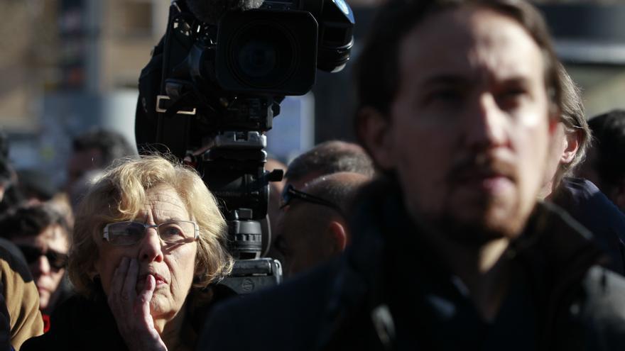 """Carmena asegura que Iglesias """"no estaba haciendo la política que la sociedad exigía"""""""