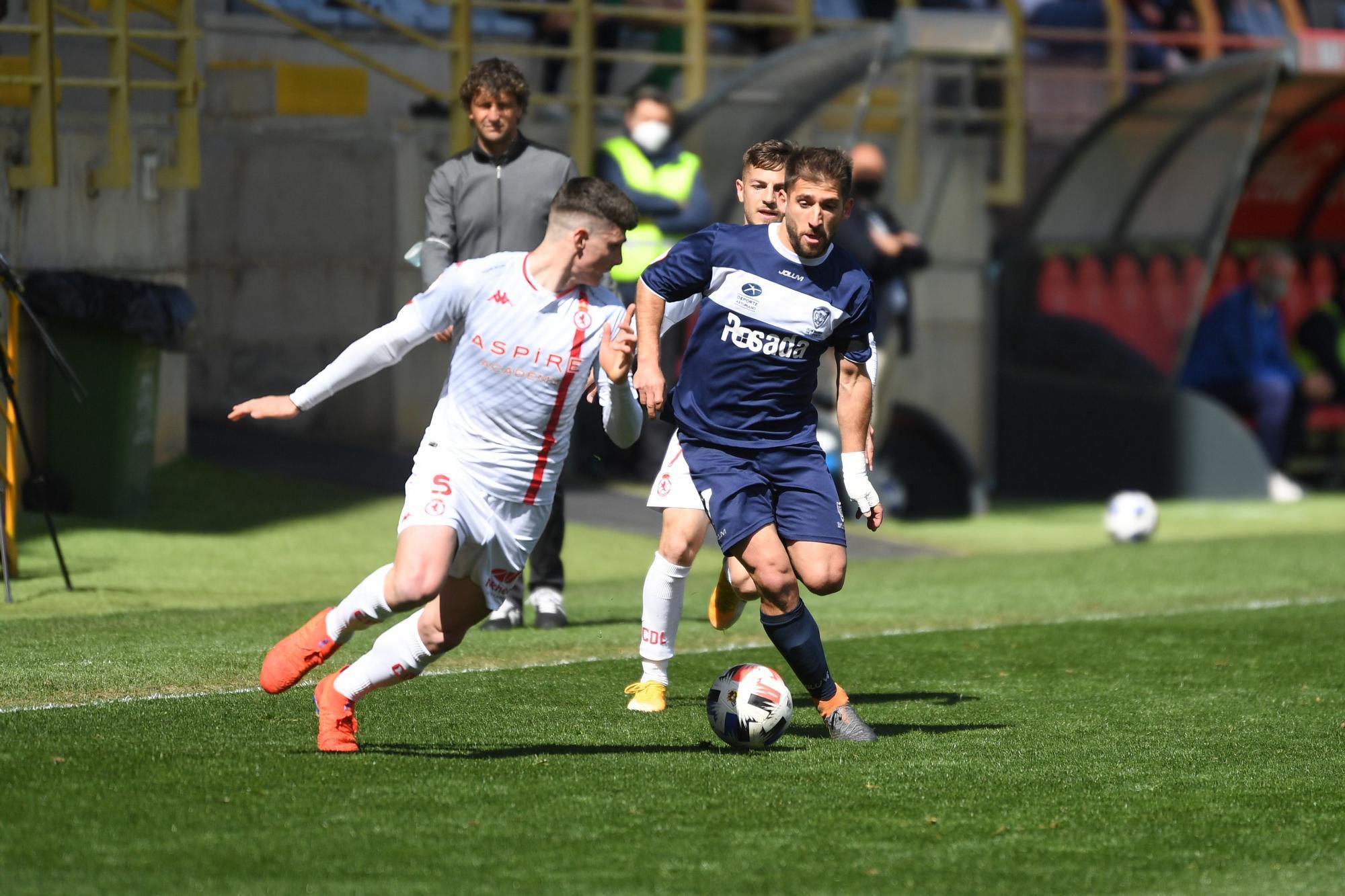 Las imágenes de los partidos de los equipos asturianos de Segunda División B