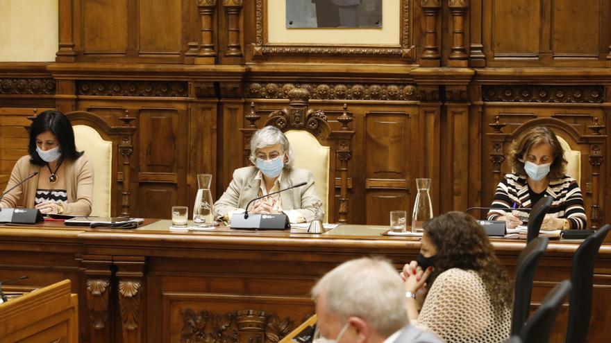 Primer pleno en Gijón tras el fin de los toros: la izquierda se une para defender la decisión de la alcaldesa