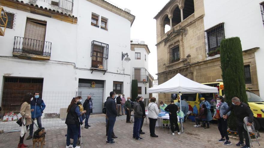 Controladores y cuidadores de los patios de Córdoba se someten a test de covid