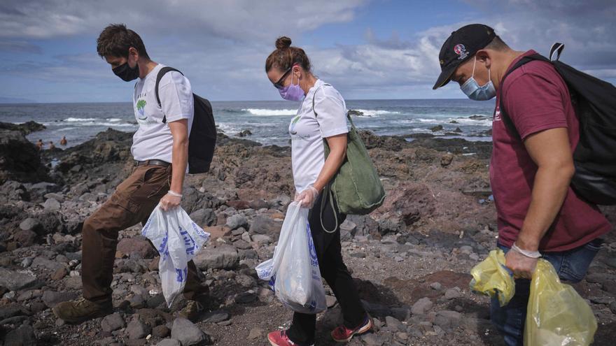 Un 'pulido' a los charcos de Punta del Hidalgo