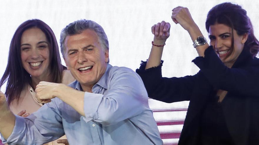 Rotunda victoria del partido de Macri sobre el de Cristina Fernández en las legislativas
