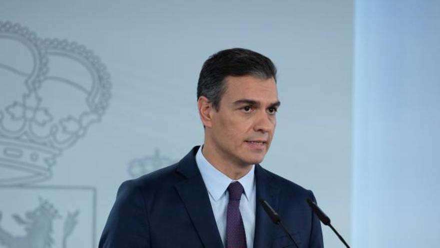 Sánchez convoca un Consejo de Ministros extraordinario para abordar el estado de alarma