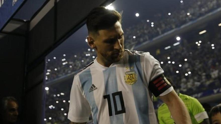 'Hat trick' de Messi a la golejada de l'Argentina a Haití