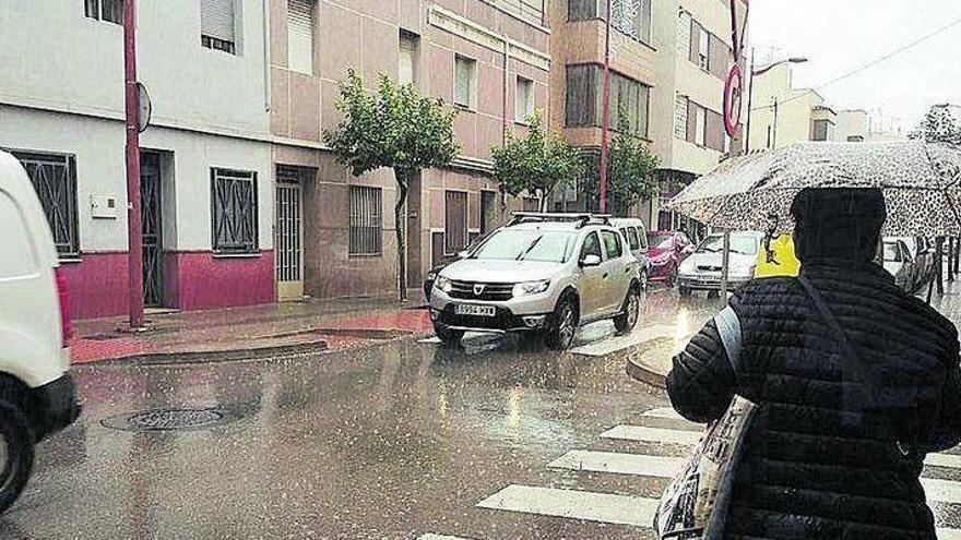Entre el 95% y el 100% de probabilidades de lluvia en Castellón hasta las 18.00 horas
