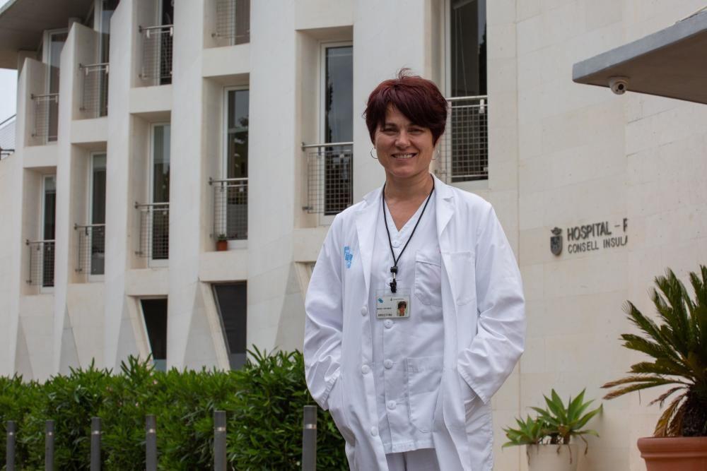 María Tur, directora del Hospital Residencia Asistida Cas Serres