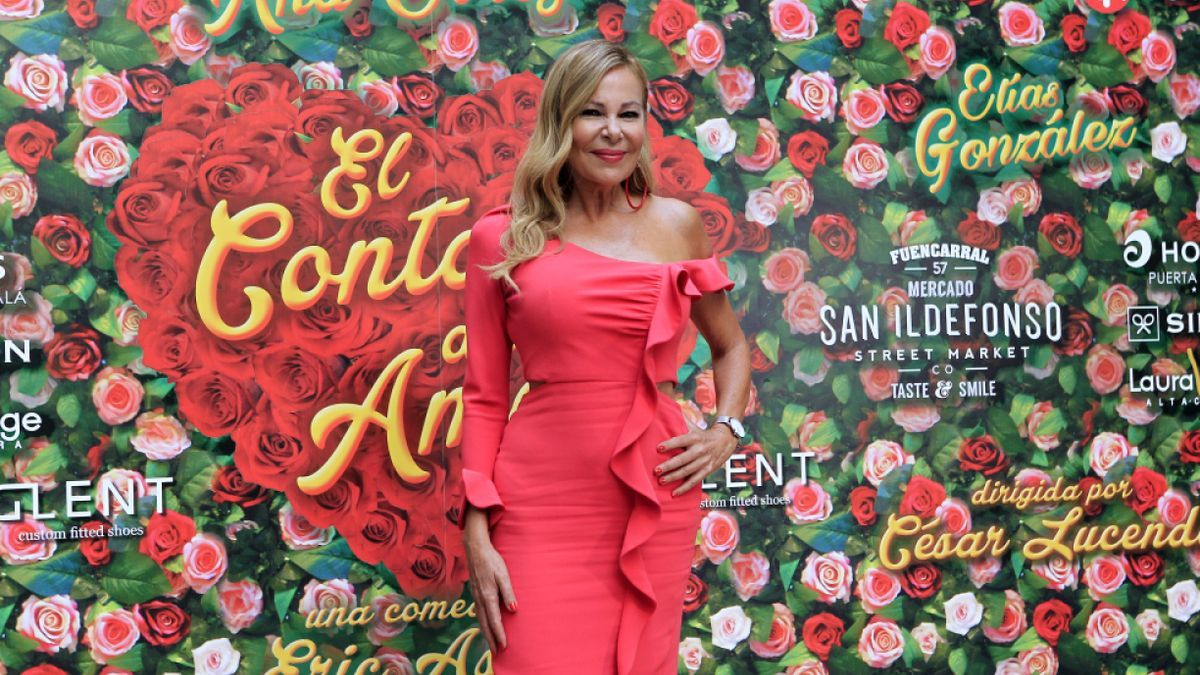 Ana Obregón, premio Joan Ramón Mainat del Festival de Televisión de Vitoria