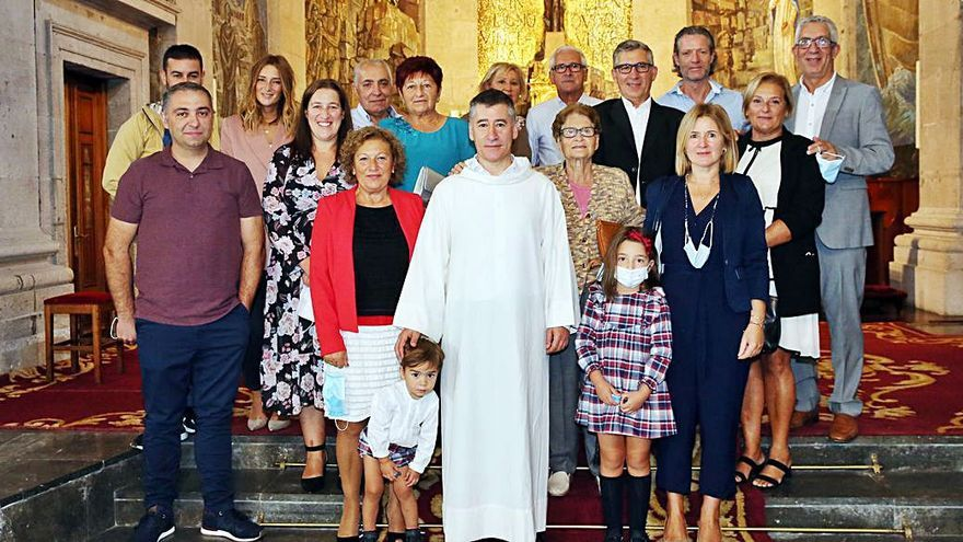 José Vidal toma posesión como párroco de la Concatedral