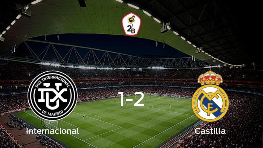 El RM Castilla se impone al Internacional y consigue los tres puntos (1-2)