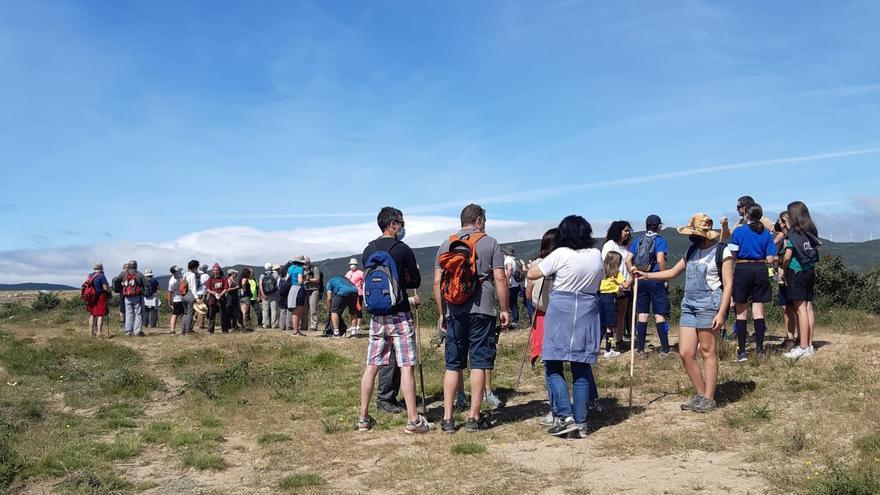 Marcha contra la mina de Calabor y por un modelo de desarrollo sostenible