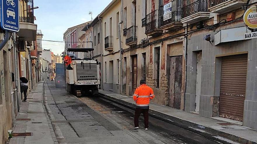 Sant Joan invierte 140.000 € en mejorar la accesibilidad de la calle San Antonio