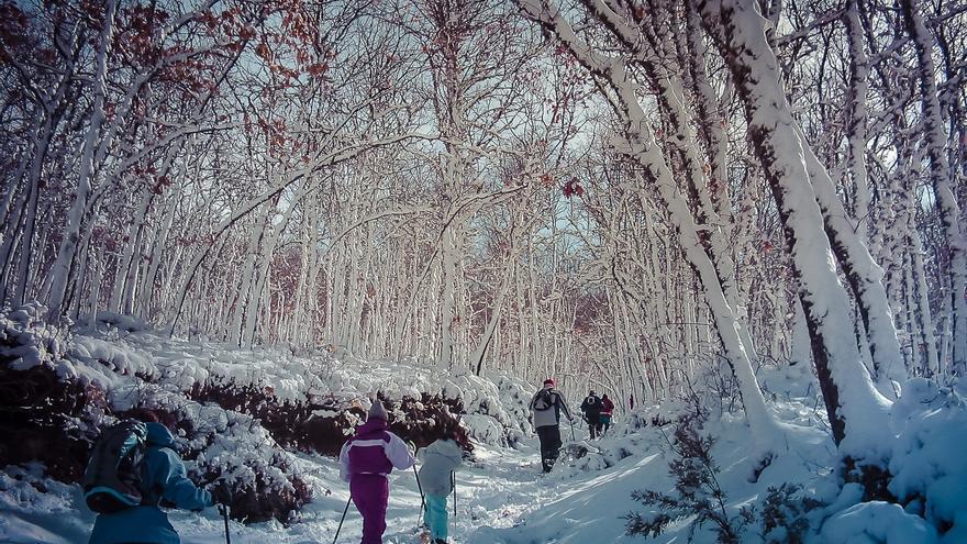 Raquetas de nieve Sanabria