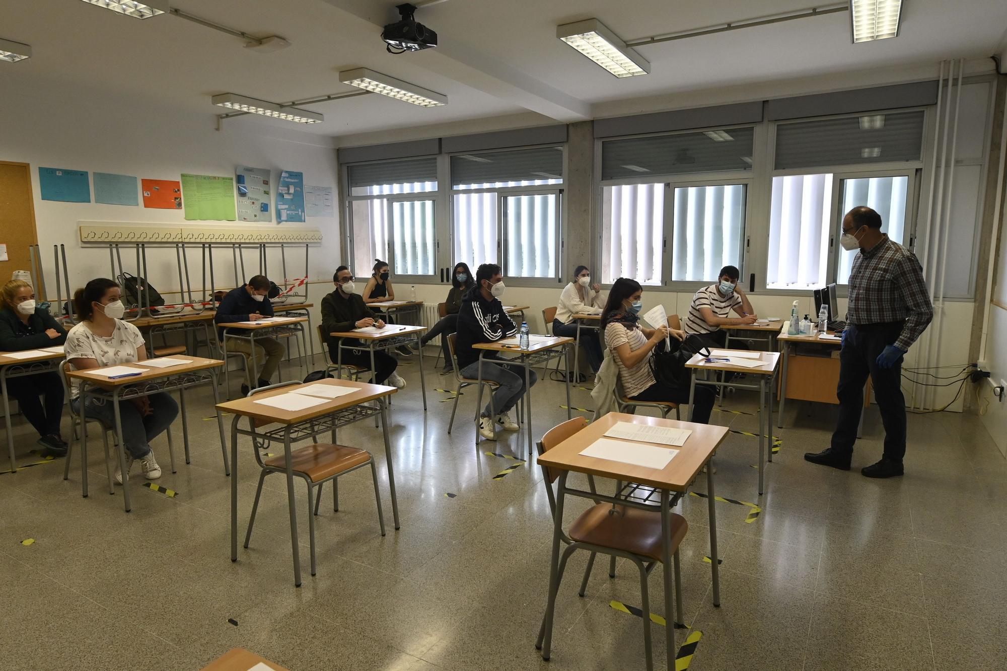 Así han comenzado las oposiciones docentes en Castellón