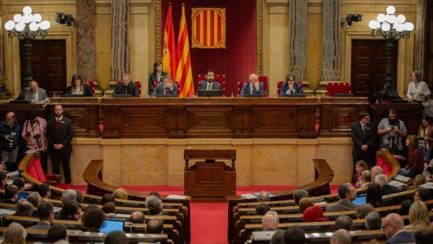 El Parlament burla al Constitucional y vota a favor de la autodeterminación