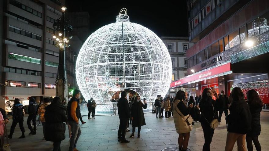 """La Navidad en Vigo le da al """"play"""": Villancicos en 40 calles durante dos meses"""