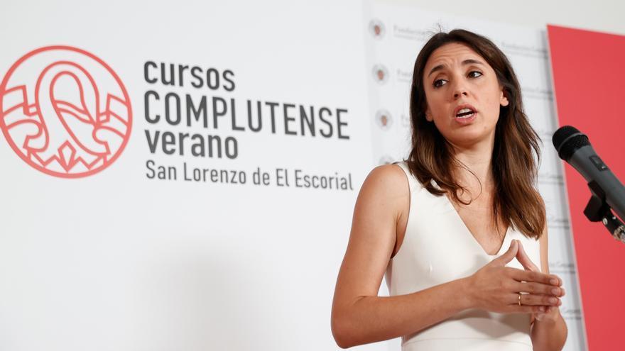 """Irene Montero advierte: """"El aborto es un derecho básico de las mujeres"""""""