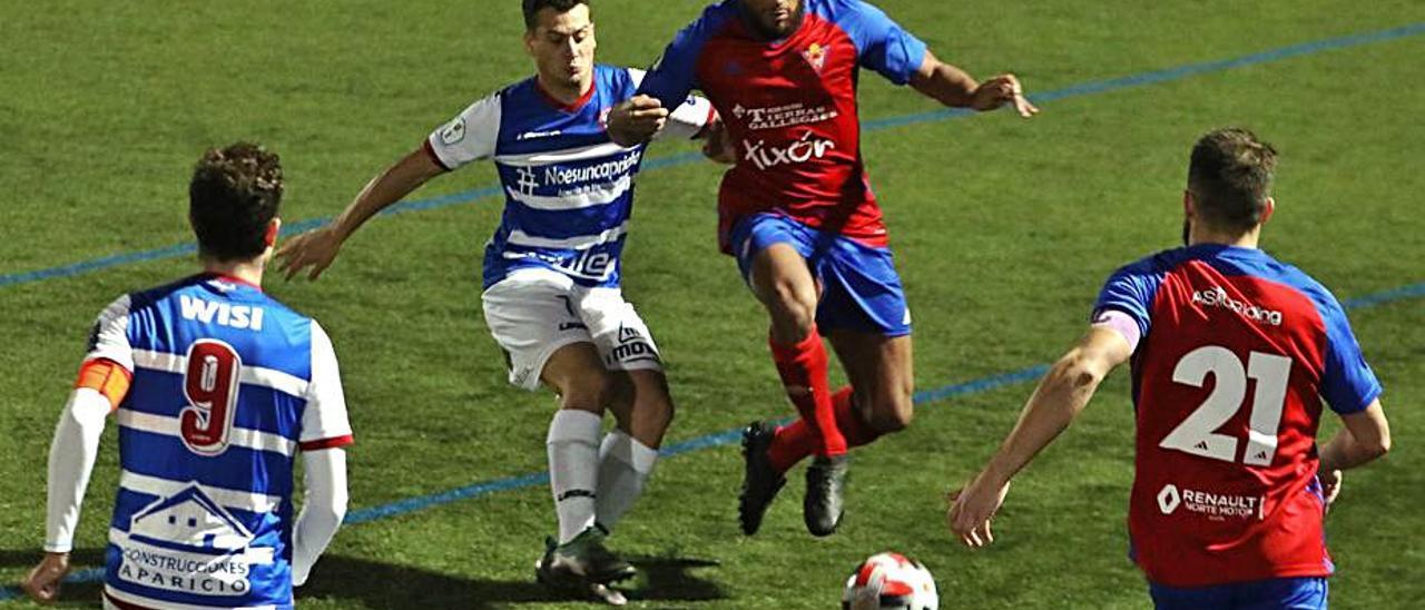 Una acción del Ceares-Stadium.   Juan Plaza