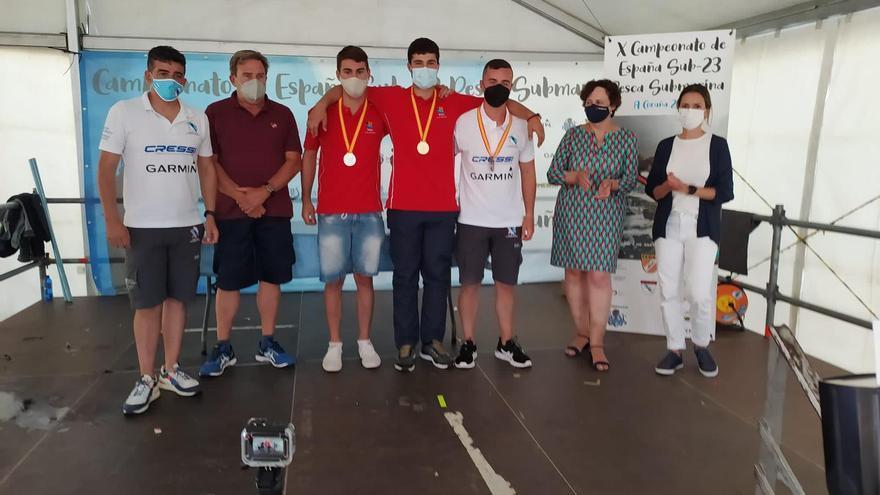 Raúl Ojeda se proclama campeón España sub-23 de pesca submarina