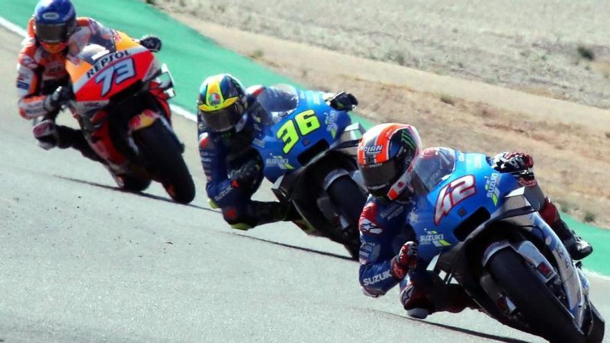 Resultado y clasificación del Gran Premio de Aragón de MotoGP