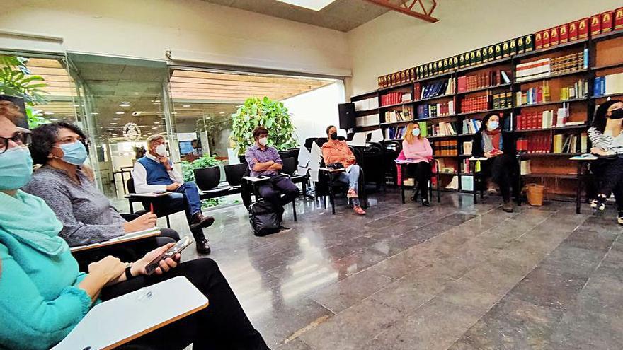 Els advocats del Col·legi de Figueres fan una formació sobre mediació