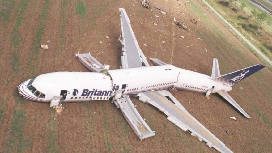 El miracle de Britannia: el dia que un avió es va partir en tres a l'aeroport de Girona