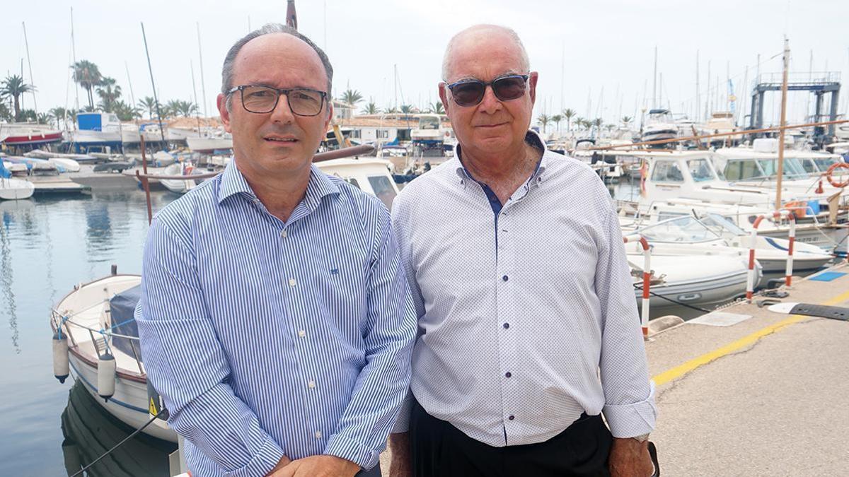 Antoni Estades y Miquel Suñer tras la elección del primero como nuevo presidente de la ACNB.