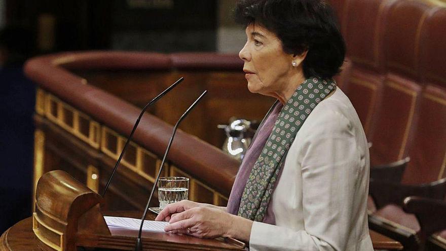 La ley Celaá pasa el primer examen del Congreso frente a PP, Vox y Ciudadanos