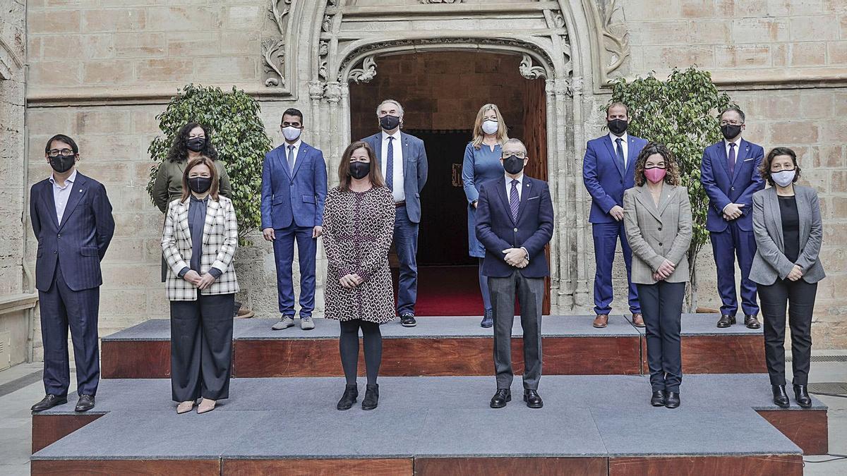 Armengol: «Es el momento de marcar el impulso que necesita Balears»