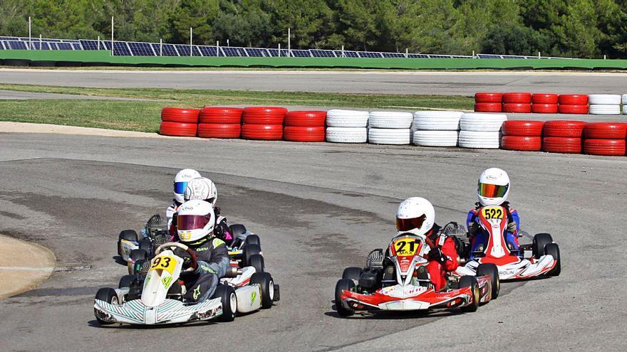 Gran nivel en la cuarta prueba del Campeonato de Balears de karting