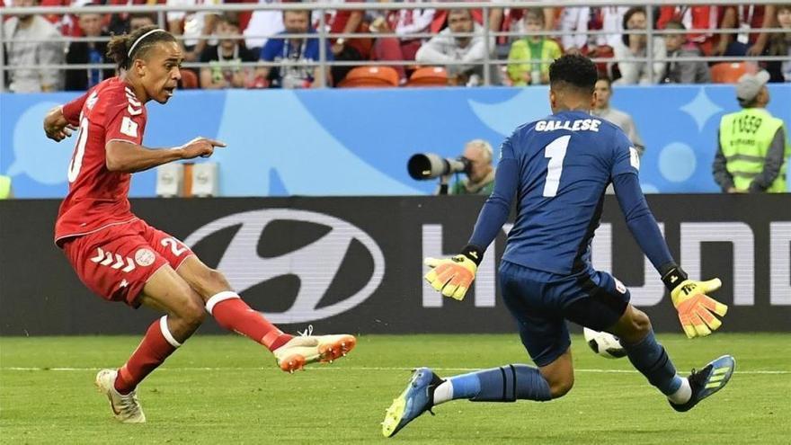 Perú sucumbe ante Dinamarca (0-1)