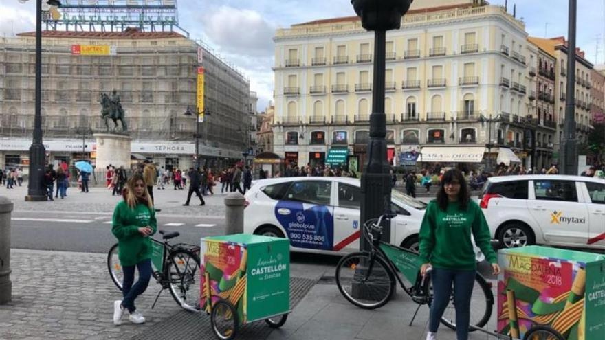 Castellón 'vende' la Magdalena en la Puerta del Sol de Madrid
