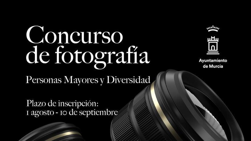 Aguas de Murcia patrocina el I Concurso de Fotografía Social para visibilizar al colectivo de mayores, convocado por el Ayuntamiento de Murcia